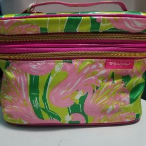 Lilly Pulitzer for Target Fan Dance Train Case